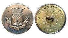 Bouton/ Button Association Coopérative de Paris. Vers 1880. 29 mm. RARE
