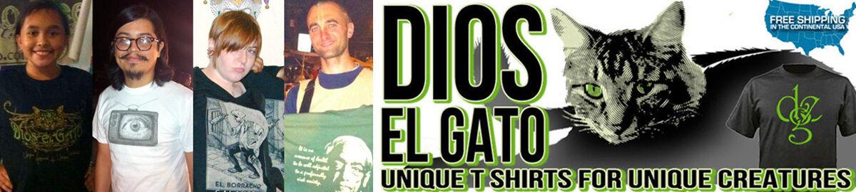 Dios El Gato T Shirts