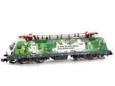 * Hobbytrain scala N  H2781 Loco Elettrica  BR1016 ÖBB Green Point Nuova OVP