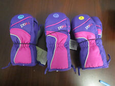 Head Youth Ski Mittens Insulated Gloves Girls Ski Gloves (Choose Size) -NEW-