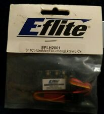E-flite 3-in-1 Control Unit Mixer/ESC/Heading Lock Gyro  EFLH2001 New