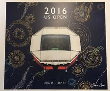 COLLECTIBLE 2016 US OPEN TENNIS PRINT BY MARCOS CHIN