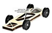 Pinewood Derby Car BODY Fast Speed Ready Canopy Xbody