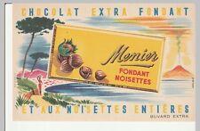 buvard chocolat menier (fondant noisettes)  volcan.....