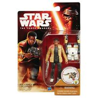 Star Wars The Force Awakens 3.75-Inch Figure Desert Mission Finn Jakku + tank