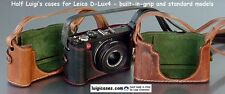 LUIGI's CASE for LEICA,D-LUX5,D-Lux 5,D-Lux4,+12mm Deluxe STRAP,LOWERED PRICE...