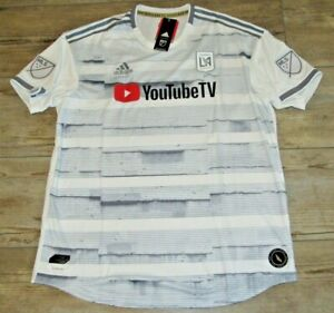 Authentic LAFC MLS adidas Climacool Soccer Jersey size Men's XL