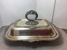 Vintage King George E.P.C Silverplate Casserole Serving Dish