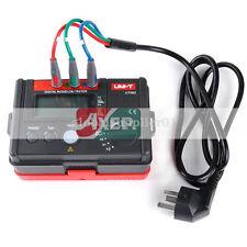 UNI-T UT582 Digital RCD ELCB Testers AUTO RAMP Leakage Circuit Breaker