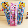 A set of stationery in a pack Pencil Earaser Sharpener Kids Student s Prize H3J5