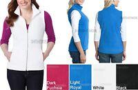 Ladies Vest CoreWarm Micro Polar Fleece Warm with Pockets Womens Sizes XS-4XL