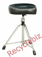 NEW! Roc n' Soc Manual Spindle Black Original Drum Throne Tall Base MST O-K