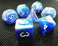 RPG 7-teilig Würfel Set Poly DND Muse Rollenspiel w4-w20 dice4friends Tabletop
