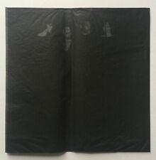 JAMES LEE BYARS 1968 S.M.S. #1 BLACK DRESS sms copley lichtenstein duchamp