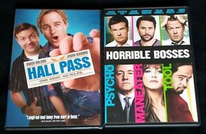 HALL PASS DVD + HORRIBLE BOSSES DVD + FREE SHIPPING! #JasonSudeikis #Comedy #D2D