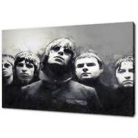 OASIS LIAM NOEL GALLAGHER CANVAS PICTURE PRINT SKETCH WALL ART FREE DELIVERY