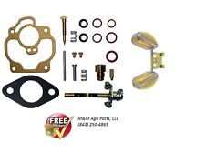 CARTER CARBURETOR KIT & FLOAT MASSEY FERGUSON MF 35 50 TO35 202 204 F40 MH 50