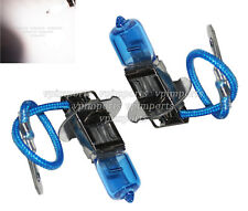 H3 453 55W 12V Halogen Xenon Gas Blue Glass Fog Headlight Main Beam Light Bulb