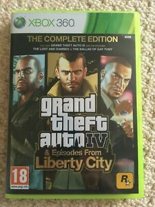 """Grand Theft Auto 4 IV Complete Edition Xbox 360, GTA4 disc is """"classics"""" release"""