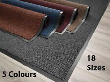 Heavy Duty Rubber Mat PVC Edge Door Entrance Barrier Hard Wearing Dust Large Rug