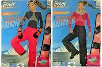 Children's Girls' Ski Pants Winter Trousers Snow Dungarees Snowboard