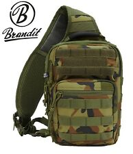 Brandit US Cooper Every Day Carry Sling Assault Rucksack Umhängetasche woodland