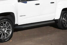 iBoard Black Running Boards Style Fit 15-19 Chevy Colorado GMC Canyon Crew Cab
