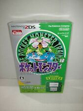Nintendo 2DS Pokemon Pocket Monster Green Limited Edition Pack From Japan New