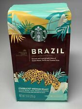 Lot of 4 STARBUCKS Premium BRAZIL Whole Bean Coffee 9 Oz. BEST BY 23 MAY 2020
