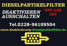 DPF Alfa Romeo 159 1.9JTDM 2.0JTDM Partikelfilter Deaktivierung DPF OFF AGR