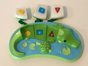 Evenflo Exersaucer Triple Fun Jungle Life Amazon Alligator Replacement Part Toy