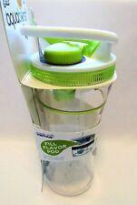 Cool Gear Aqua Burst Beverage Travel Cup Mug With Flavor Burst Pump Lime Green