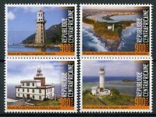 More details for central african rep lighthouses stamps 2020 mnh point cartwright light 4v set