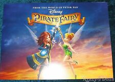 Disney The Pirate Fairy Movie Lithograph Set NEW!