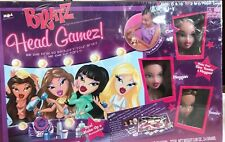 NEW SEALED Bratz Head Gamez COMES WITH THREE BRATZ HEADS AND TONS OF ACCESSORIES