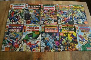 Marvel Team Up #81-90 Comic Book Lot of 10 NM 9.2 Black Panther Shang Chi