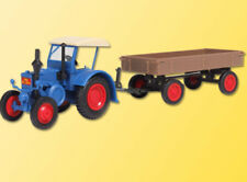 Kibri Kit 12232 NEW HO LANZ TRACTOR WITH RUBBER TYRED TRAILER