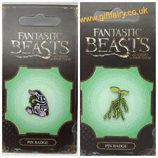 Official Fantastic Beasts and Where to Find Them-Pickit & Niffler Pin Badge
