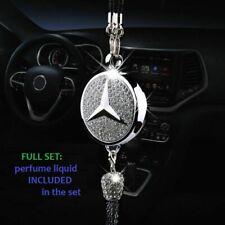 Mercedes AMG Car Rhinestone Diamond Logo Perfume Air Freshener Gift Car Decor
