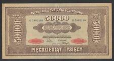 A691 Poland Polonia 50000 marek 1922 aUNC