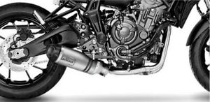 YAMAHA MT-07 2021 LEOVINCE LV-ONE EVO STAINLESS/CARBON EXHAUST SYSTEM*IN STOCK