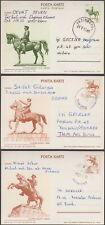 TURKEY 7 DIFFERENT USED / UNUSED POSTAL STATIONERY VIEW CARDS - N41809