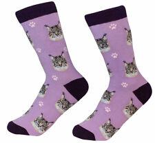 Maine Coon Cat Socks