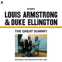 The Great Summit - Louis Armstrong, Duke Ellington LP Vinyle Wax Time Records