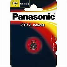 Panasonic LR44 dl1632 batteria bottone (LR-44, SR44, G13A, L1154, d76a, V13GA, PX76A)
