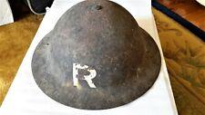 Reduced! WW2 Steel Helmet, Mark 1, Dated 1940. 'R' on sides