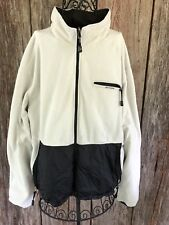 Hilfiger US Ski Team Reversible Jacket Army Green  White Fleece XL