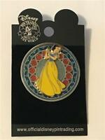 2003 WDW STAINED GLASS PRINCESS SERIES SNOW WHITE DISNEY PIN 20369