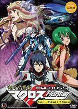 DVD Macross Frontier (TV 1 - 25 End) DVD + 2 Movies