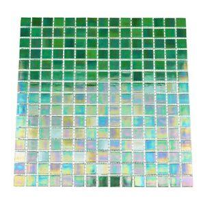 1 Sheet TGEMG-07 1x1 Square Red Glass Mosaic Tile Sheet-Kitchen and Bath backsplash Wall Tile,Pool Tile Shower Tile